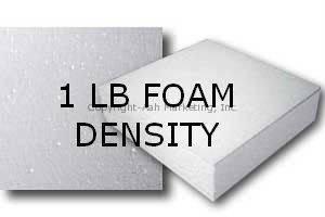1 LB Foam Density