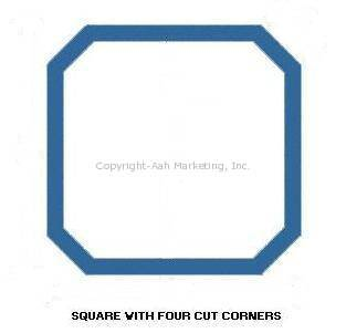 Square with Cut Corners